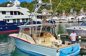 fishing boats in the jaco area