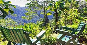 costa rica mountain view